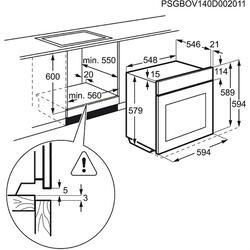 Электрический духовой шкаф Electrolux EOA95651AV
