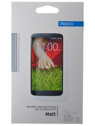 Пленка защитная Deppa для LG Optimus G 2 (Матовая)