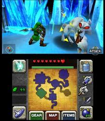 Игра для 3DS The Legend of Zelda: Ocarina of Time (Select)