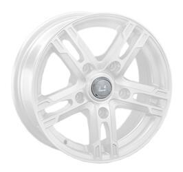 Автомобильный диск Литой LS 215 6,5x15 5/100 ET 40 DIA 57,1 White