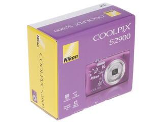 Компактная камера Nikon Coolpix S2900 фиолетовый