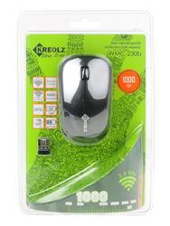 Мышь беспроводная Kreolz WMC-230b