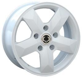 Автомобильный диск Литой Replay SNG7 7x16 5/130 ET 43 DIA 84,1 White