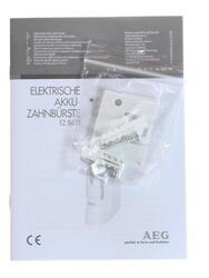 Электрическая зубная щетка AEG EZ 5623