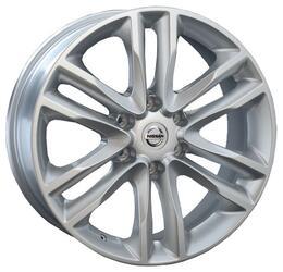 Автомобильный диск литой Replay GN48 8x20 6/139,7 ET 35 DIA 77,8 Sil