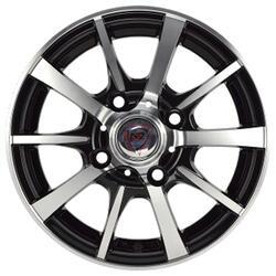 Автомобильный диск литой NZ SH677 4,5x13 4/114,3 ET 45 DIA 69,1 BKF