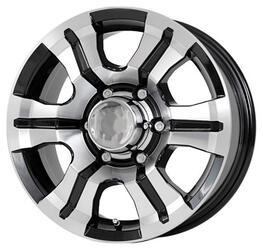 Автомобильный диск Литой Скад Тритон 7x16 5/139,7 ET 35 DIA 109,5 Алмаз