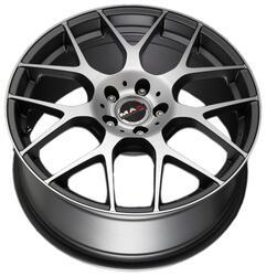 Автомобильный диск литой MAK DTM-One 8x17 5/110 ET 35 DIA 65,1 Ice Titan