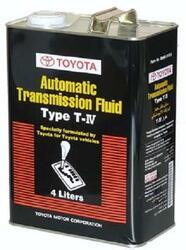 Трансмиссионное масло Toyota АTF Type T-IV 08886-81015