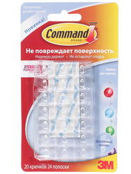 Клипса для проводов command 3M 17026CLR