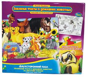 Пазл  Learning Journey Забавные факты о Домашних животных