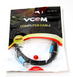 Кабель HDMI (M) - HDMI (M),  1.8m, ver. 1.4, плоский, с LED подсветкой [CG546ML-1.8M], VCO