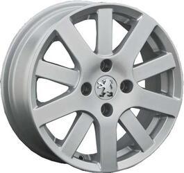 Автомобильный диск Литой Replay PG11 6x15 4/108 ET 27 DIA 55,1 Sil