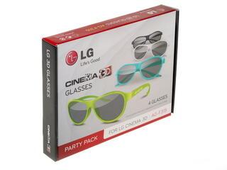 3D очки LG AG-F315 черный, желтый, белый, голубой