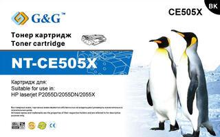 Картридж лазерный G&G NT-CE505X