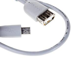 Кабель Belsis BW1422 USB - mini USB серый
