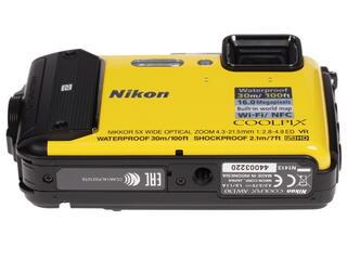 Компактная камера Nikon Coolpix AW130 желтый