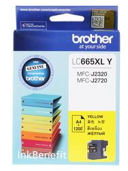 Картридж струйный Brother LC-665XLY