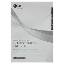 Холодильник с морозильником LG GR-M802HMHM серебристый
