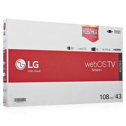 "43"" (108 см)  LED-телевизор LG 43LF634V черный"