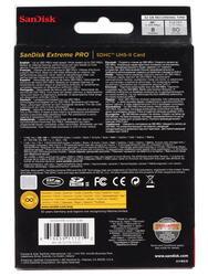 Карта памяти SanDisk Extreme Pro SDSDXPB-032G-G46 SDHC 32 Гб