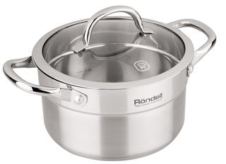 Кастрюля Rondell Creative RDS-386 серебристый