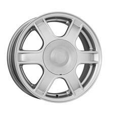 Автомобильный диск Литой K&K КС576 5,5x14 4/100 ET 43 DIA 60,1 Сильвер