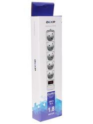 Сетевой фильтр DEXP Optimus 518 W белый