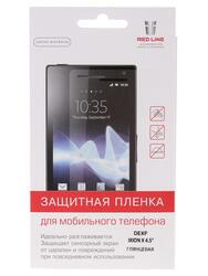 "4.5""  Пленка защитная для смартфона Dexp Ixion X 4.5"