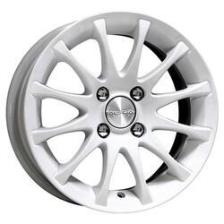 Автомобильный диск Литой K&K Ореол 6x14 5/100 ET 35 DIA 67,1 Алмаз вайт
