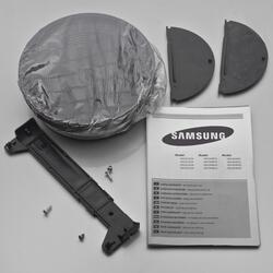 Вытяжка каминная Samsung HDC6D90UG серебристый
