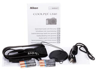 Компактная камера Nikon Coolpix L840 красный