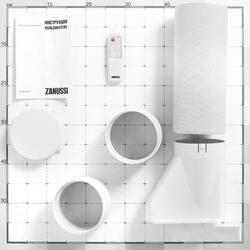 Кондиционер мобильный Zanussi ZACM-12 MP/N1 белый