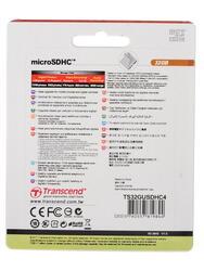 Карта памяти Transcend microSDHC 32 Гб
