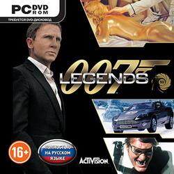 """[155059] Игра """"007 Legends (русская версия)"""" DVD"""