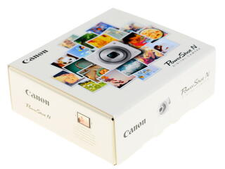 Компактная камера Canon PowerShot N белый