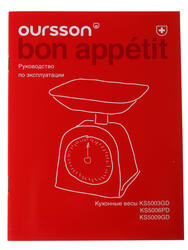 Кухонные весы Oursson KS5003GD/GA зеленый