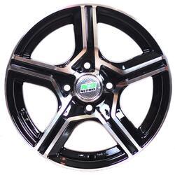 Автомобильный диск Литой Nitro Y738 6x14 4/100 ET 45 DIA 73,1 BFP