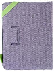 """Чехол-книжка для планшета универсальный 7""""  сиреневый"""