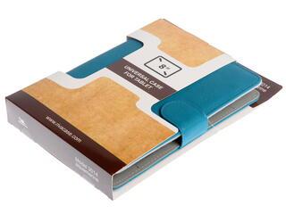 """Чехол-книжка для планшета универсальный 8""""  голубой"""