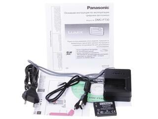 Компактная камера Panasonic Lumix DMC-FT30 черный