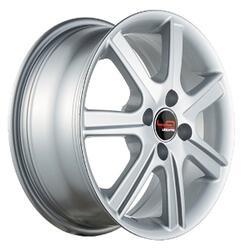 Автомобильный диск Литой LegeArtis RN57 6x15 4/100 ET 43 DIA 60,1 Sil
