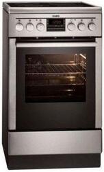Электрическая плита AEG 47055V9-MN серебристый
