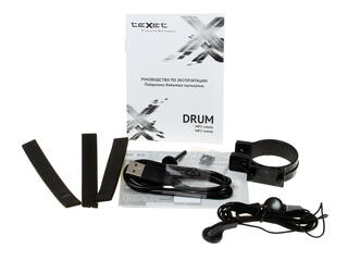Портативная аудиосистема Texet DRUM