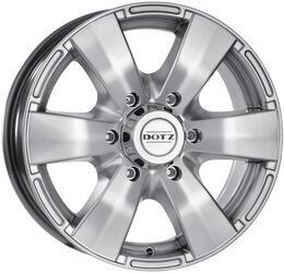Автомобильный диск Литой Dotz Luxor 8x17 6/139,7 ET 0 DIA 110