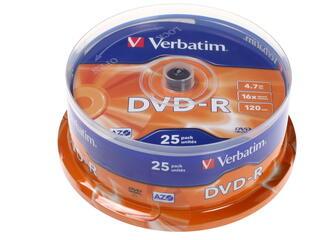 Диск Verbatim DVD-R 4.7Gb