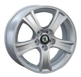 Автомобильный диск литой Replay SK28 6,5x15 5/114,3 ET 50 DIA 63,3 Sil