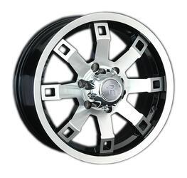 Автомобильный диск Литой LS 316 8x17 6/139,7 ET 31 DIA 77,9 BKF