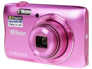 Компактная камера Nikon Coolpix S3700 розовый
