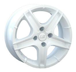 Автомобильный диск Литой LS K333 6x14 4/100 ET 40 DIA 73,1 White